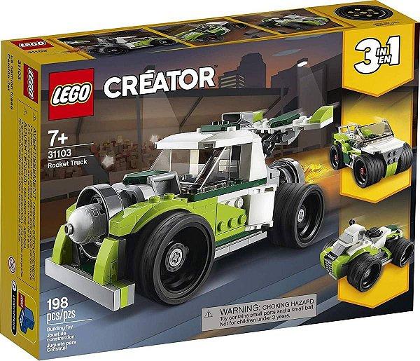 LEGO Creator - Caminhão Foguete 31103