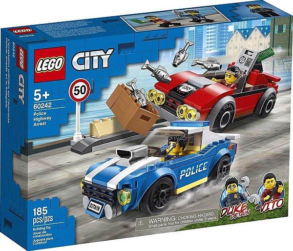 Lego City - Detenção Policial Na Autoestrada 60242