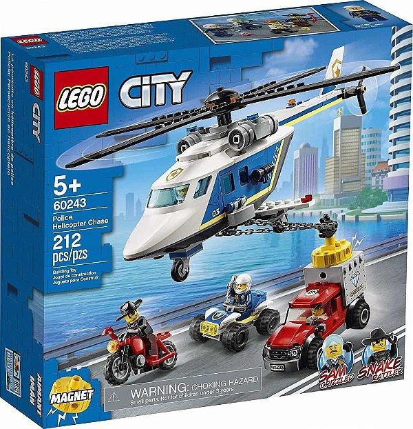 Lego city - Perseguição Policial De Helicóptero 60243