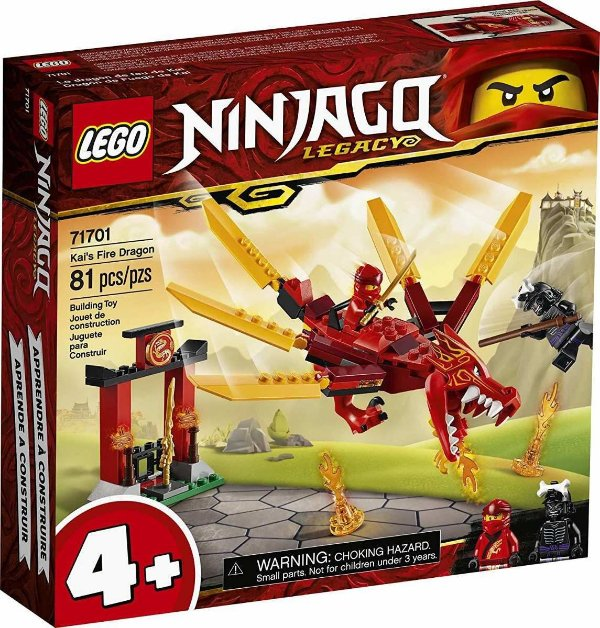 Lego Ninjago - Dragao Do Fogo Do Kai 71701