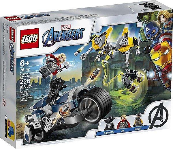 Lego Marvel - Ataque Dos Vingadores 76142