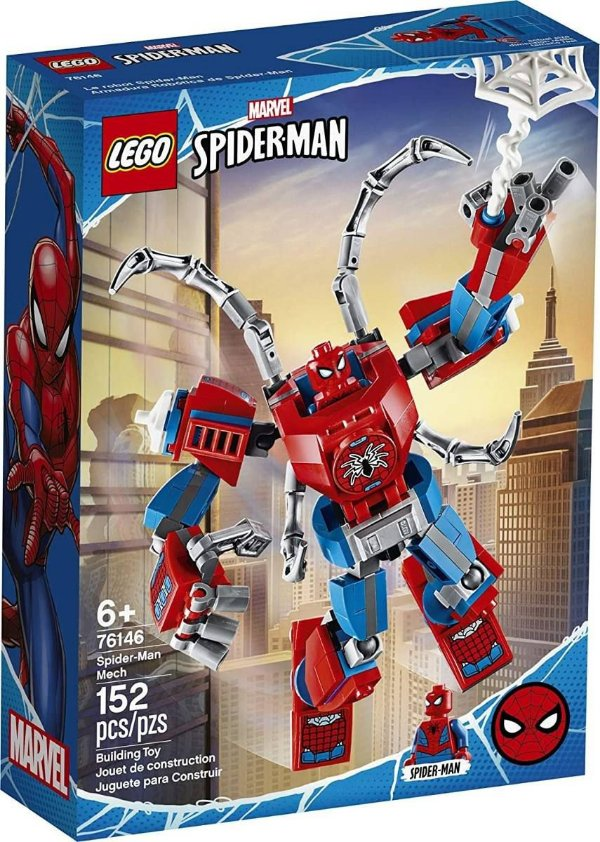 Lego Marvel - Robô Spider-man 76146