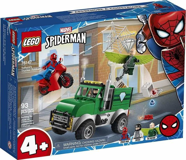 Lego Marvel - O Assalto Ao Caminhoneiro 76147