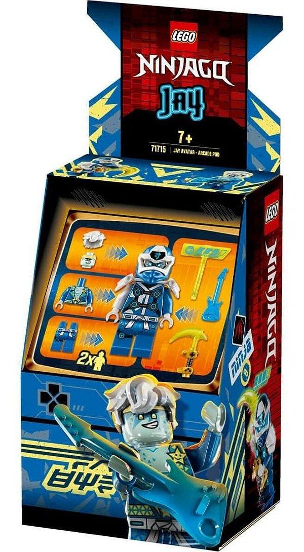 Lego Ninjago - Jay Avatar Pod De Arcade 71715
