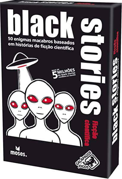 Jogo Black Stories Ficção Científica