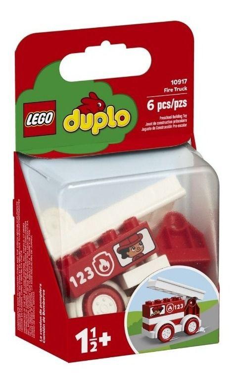 Lego Duplo - Caminhão Dos Bombeiros 10917