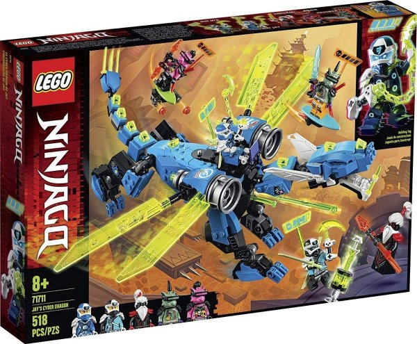 Lego Ninjago - O Ciber Dragão Do Jay 71711