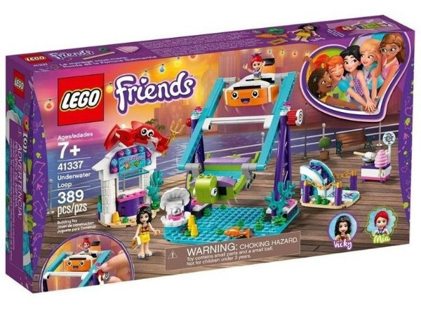 Lego Friends - Looping Subaquatico 41337