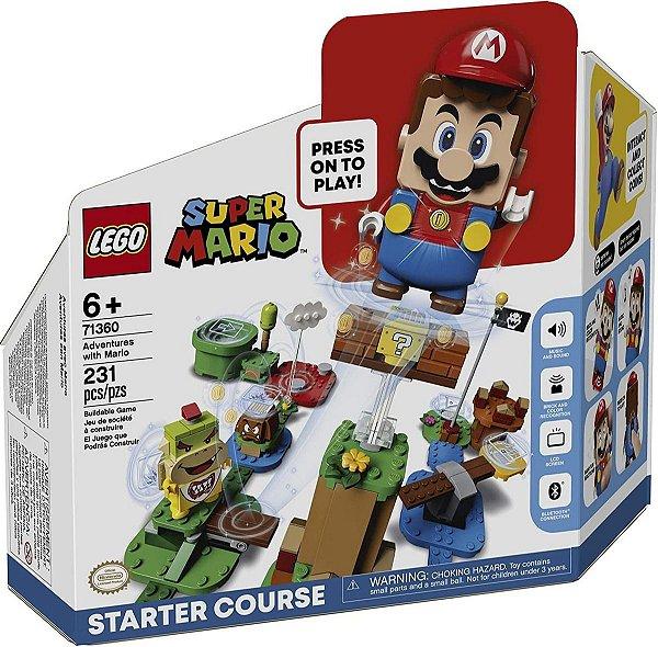 Lego Super Mario - Aventuras Com Mario Início 71360