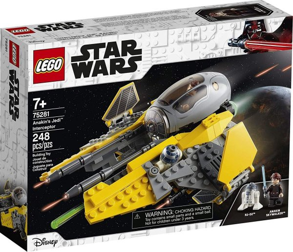 Lego Star Wars - Interceptor Jedi De Anakin 75281