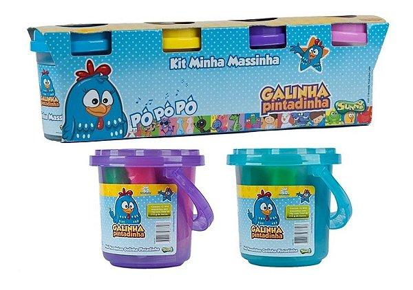 Kit Massinha Galinha Pintadinha