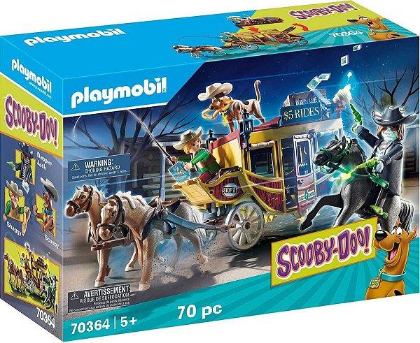 Playmobil 70364 - Scooby-doo! Aventura No Oeste Selvagem