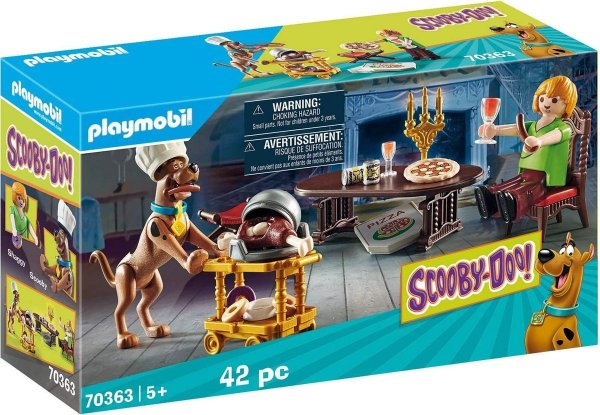 Playmobil 70363 - Scooby-doo! Jantar Com Salsicha