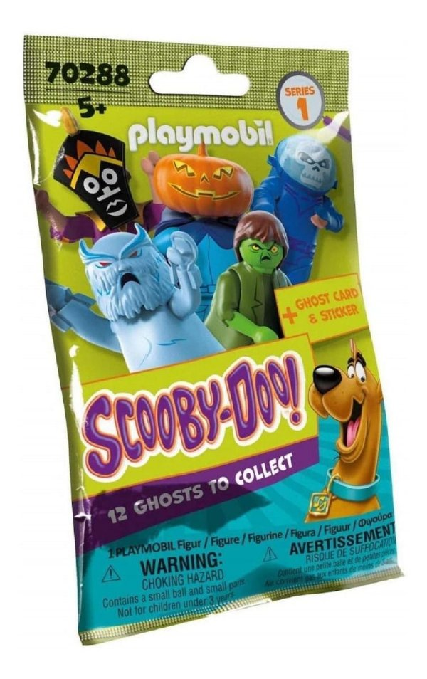 Playmobil 70288 Scooby-doo! Figura Surpresa Coleção Completa