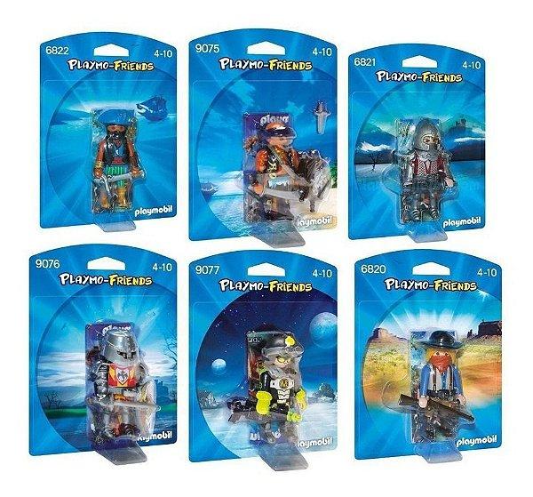 Playmobil Friends Masculino Pack Com 6