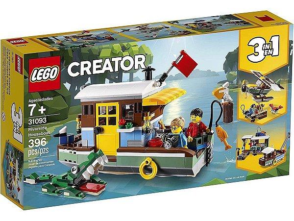 Lego Creator - Casa Flutuante Na Margem Do Rio 31093