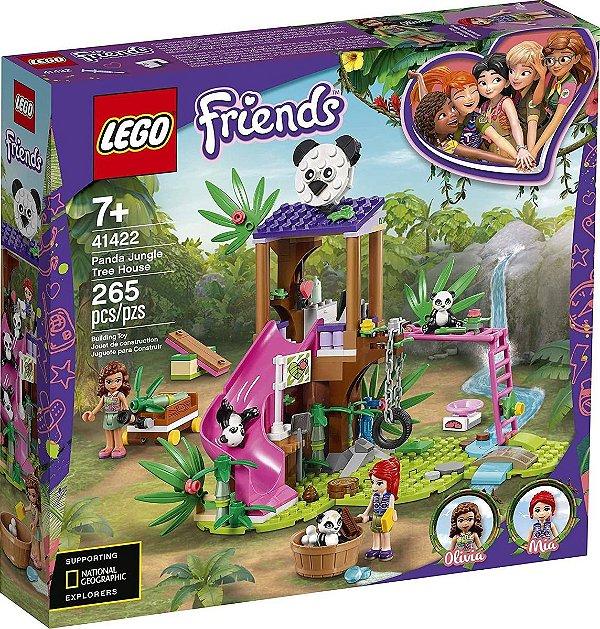 Lego Friends - Casa Do Panda Na Árvore Da Selva 41422