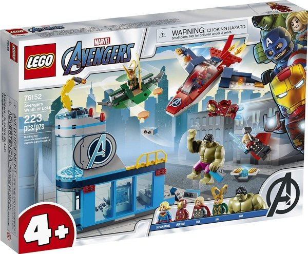 Lego Marvel - A Ira De Loki 76152