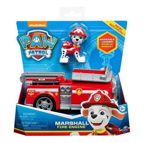 Patrulha Canina Boneco com Veículo - Marshall Fire Engine