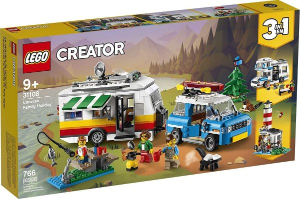 Lego Creator - Férias Em Família No Trailer 31108