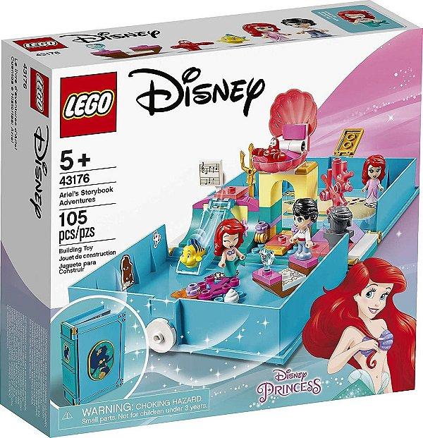 Lego Disney - Aventuras Do Livro De Contos Da Ariel 43176