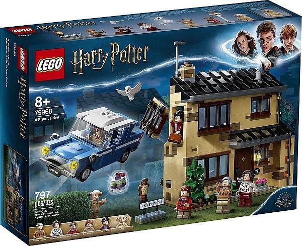 Lego Harry Potter - Rua Dos Alfeneiros, 4 75968