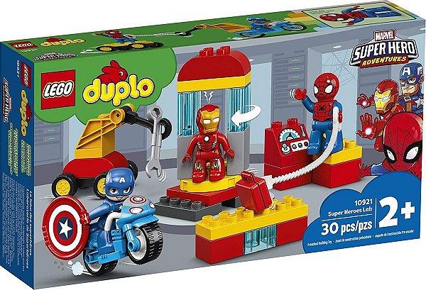 Lego Duplo - Laboratório De Super-heróis 10921