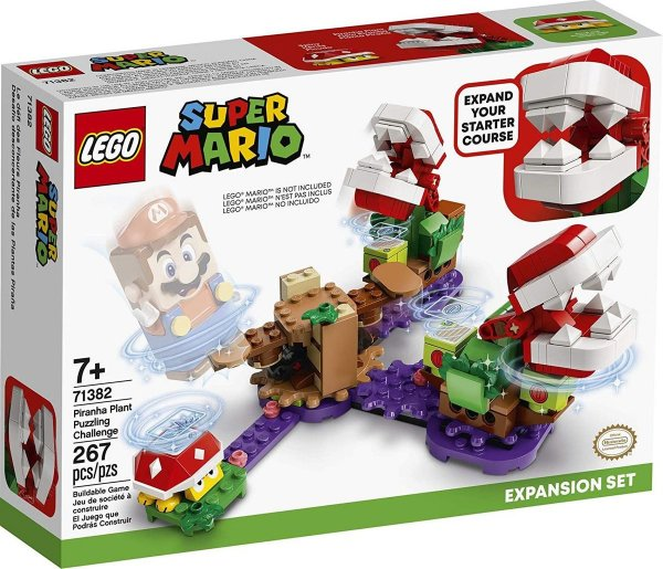 Lego Super Mario - O Desafio Das Plantas Piranhas 71382