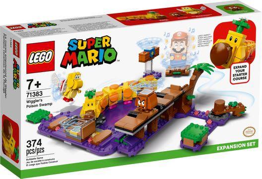 Lego Super Mario - O Pântano Venenoso De Wiggler 71383