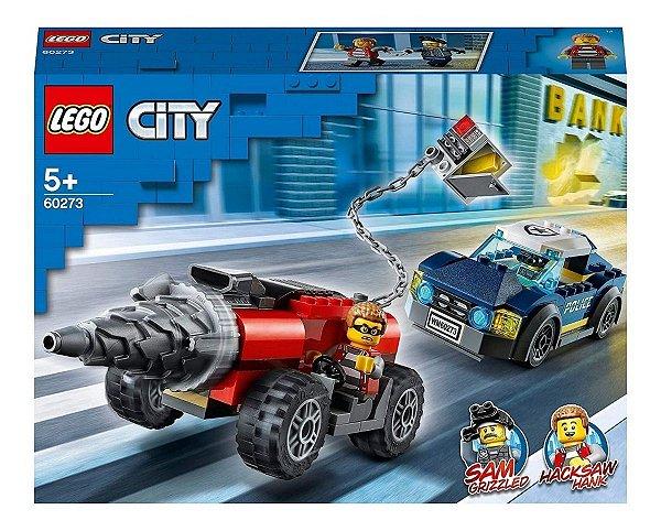 Lego City - Perseguição De Carro Perfurado 60273
