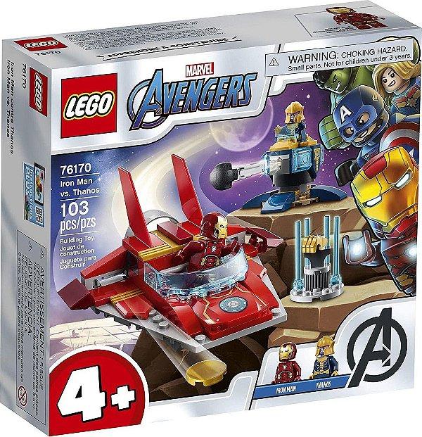 Lego Marvel - Iron Man Vs. Thanos 76170