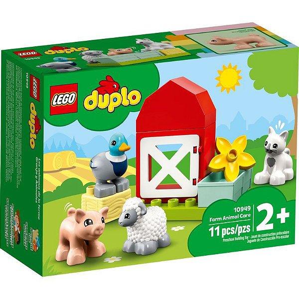 Lego Duplo - Cuidando Dos Animais Da Fazenda 10949