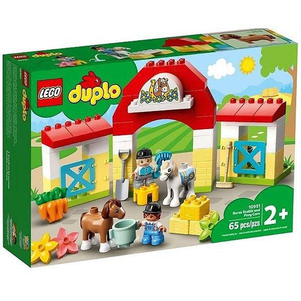 Lego Duplo - Estábulo De Cavalos E Pôneis 10951