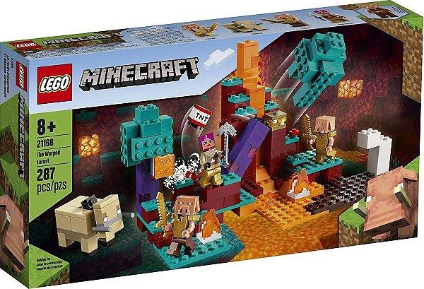 Lego Minecraft - A Floresta Deformada 21168