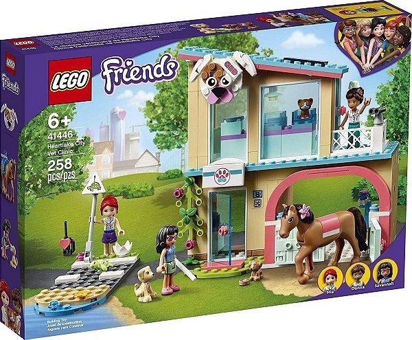 Lego Friends - Clínica Veterinária De Heartlake City 41446