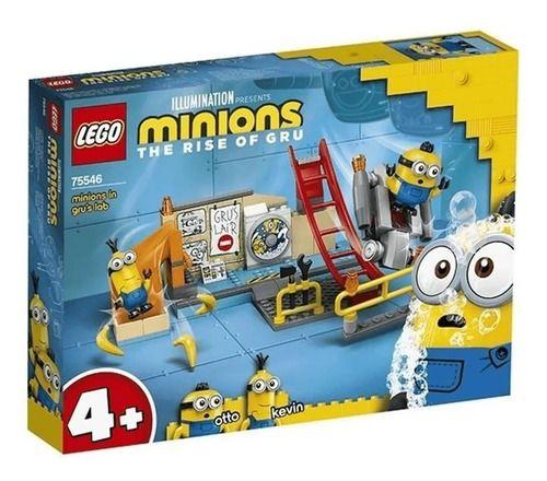 Lego Minions - Os Minions No Laboratório De Gru 75546