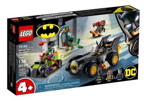 Lego Dc - Batman Vs. Coringa: Perseguição De Batmóvel 76180