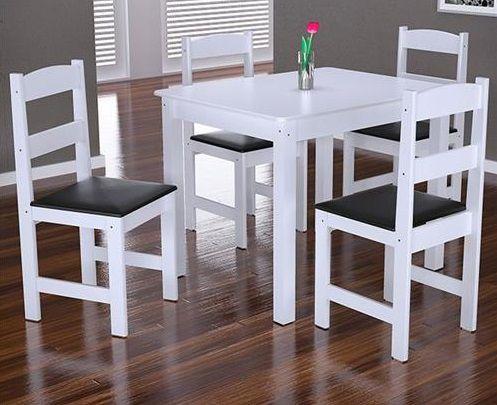 Jogo de Mesa Praiana com 4 Cadeiras Arauna Móveis