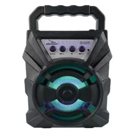 Caixa de Som Bluetooth 10W RMS D-S25 - Grasep