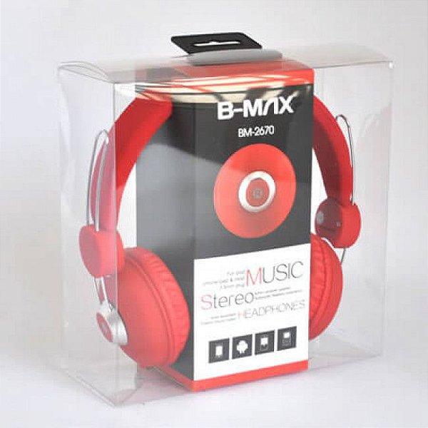 Fone Headphone Bm-2670 Super Bass Diversas Cores AZ Importados