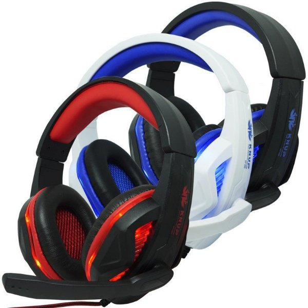 Fone Headset Gamer PC Xbox One Ps4 Knup Kp-396 Com Microfone AZ Importados
