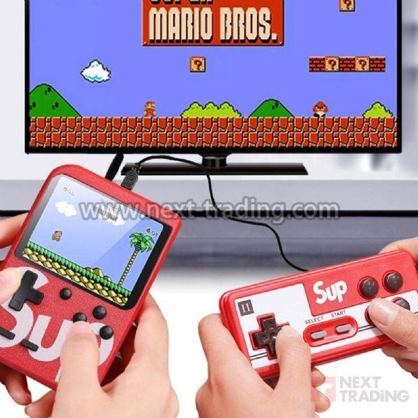 Vídeo Game Gamepad Retro Clássicos 400 Games Nintendo 8 Bits AZ Importados