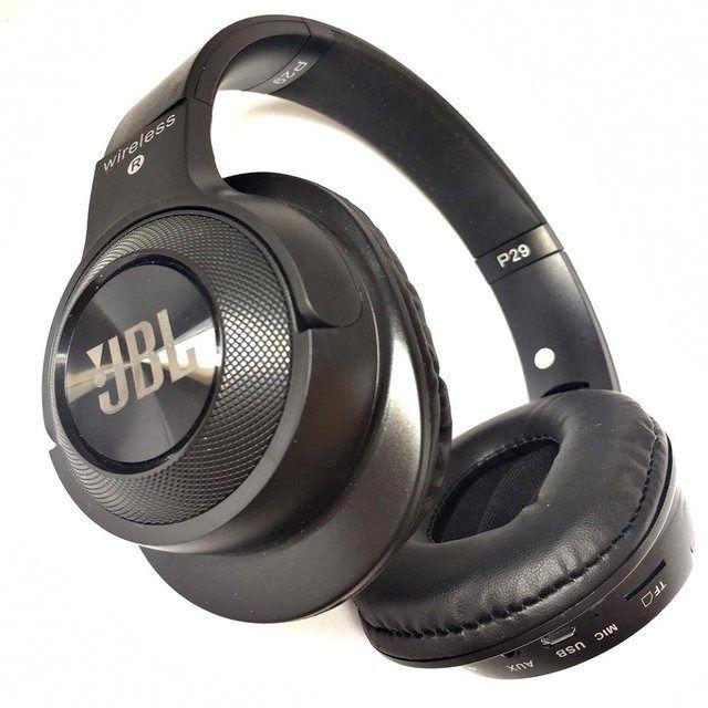 Fone Tipo JBL Studio Bluetooth Mp3 Rádio Fm P29 Stereo Potente AZ Importados