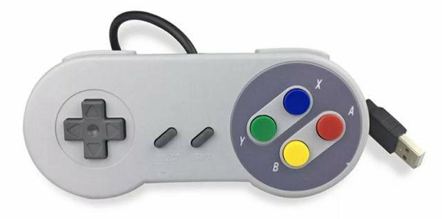 Controle Joystic Super Nintendo USB para PC ou Notebook