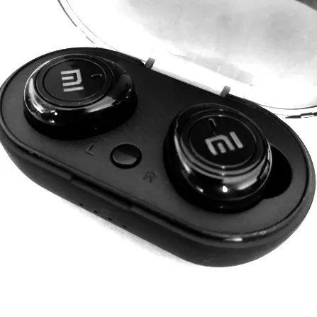 Fone Intra auricular Bluetooth MI In-Ear Tws-5 Preto Bluetooth 5.0 AZ Importados