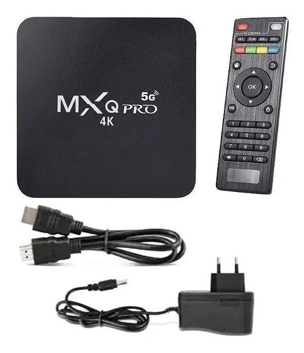 Conversor Tv Box 4k Android 10.1 4Gb Ram 32bg Memoria Interna