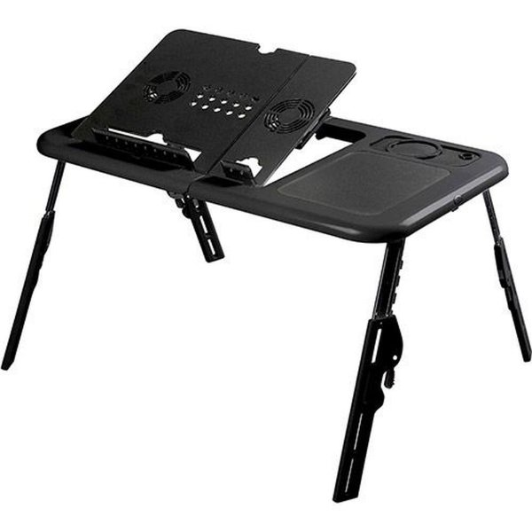 Suporte Portátil Notebook Mesa com Cooler Tomate MTN-888 Dobrável