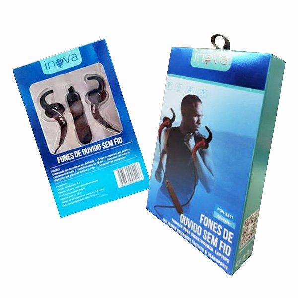 Fone de Ouvido Sem Fio Bluetooth Smartphone Note