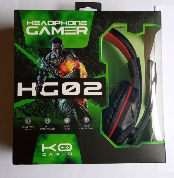 Headset Gamer KOHeadphone Gamer HG02 P2 PS4 Xbox One