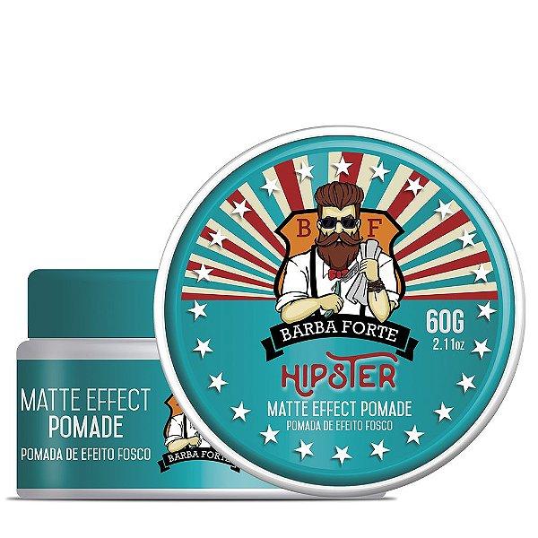 Pomada Efeito Fosco Matte Effect Hipster Barba Forte 60gr